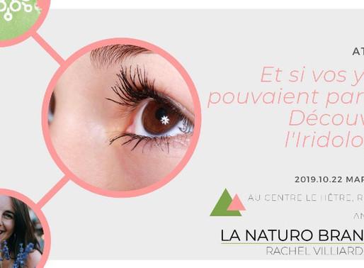 Atelier sur l'iridologie : Et si vos yeux pouvaient parler...