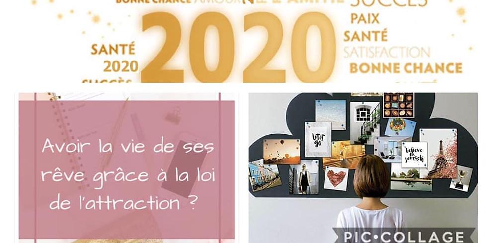 Atelier : Tableau de rêves ''Créez votre année 2020''