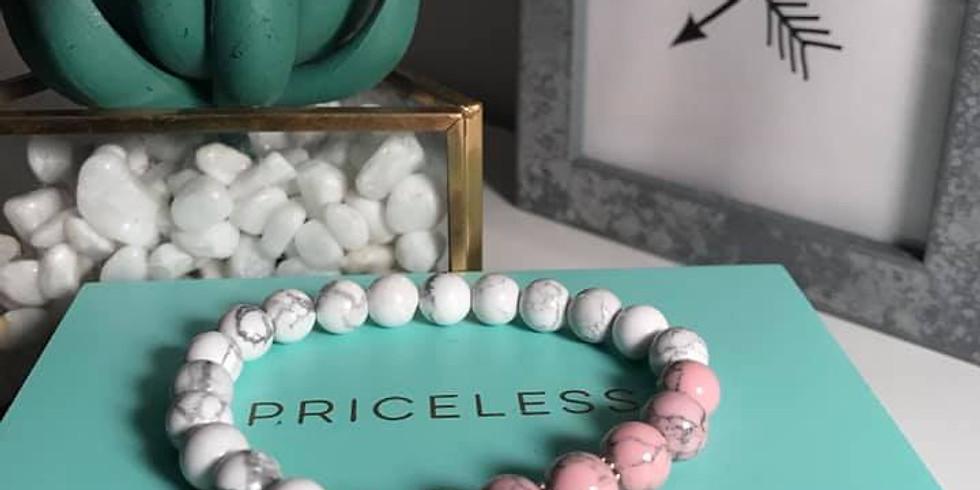 Rituel de création d'un bracelet d'intentions