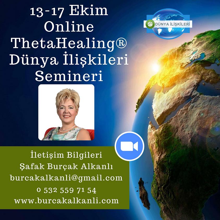 Online ThetaHealing® Dünya İlişkileri Semineri
