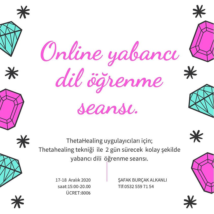 Online ThetaHealing® Yabancı Dil Öğrenme Seansı