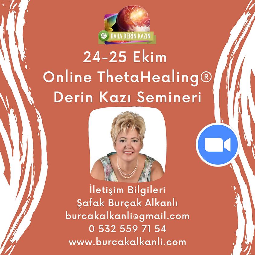 Online ThetaHealing® Derin Kazı Semineri