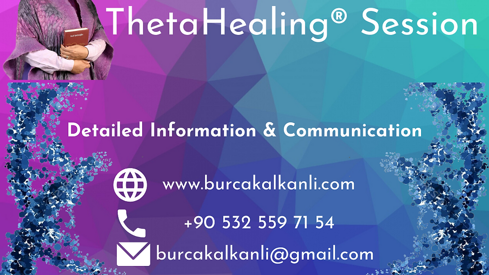 Online ThetaHealing® Session