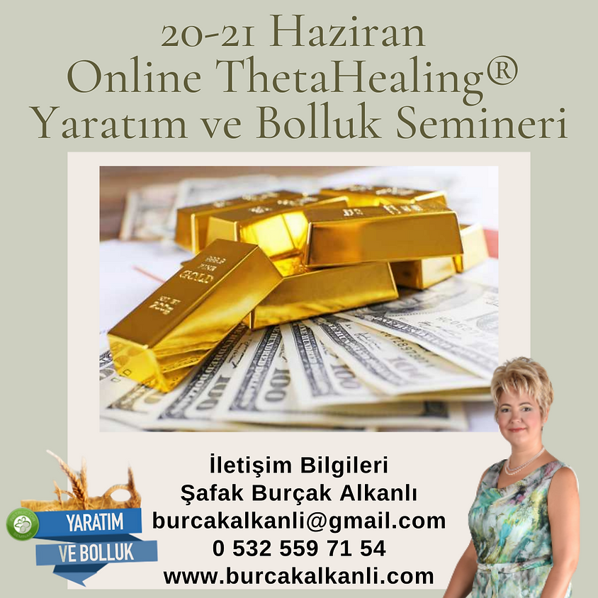 Online ThetaHealing® Yaratım ve Bolluk Semineri