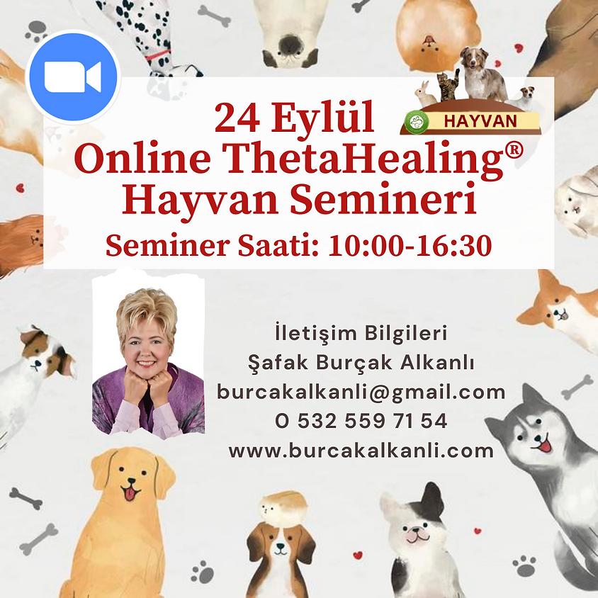 Online ThetaHealing® Hayvan Semineri