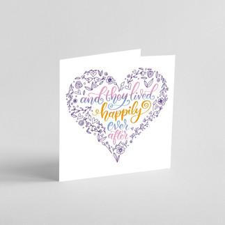 Wedding patterned heart card mock up_edi