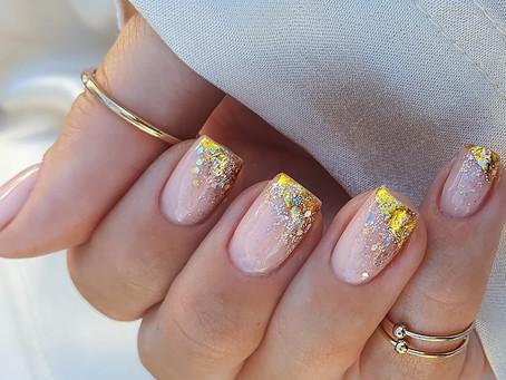 Glitter nails 2021: fabulous ideas to wear glitter nails