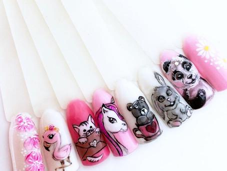 Nail patterns 2021: trendy nail design ideas