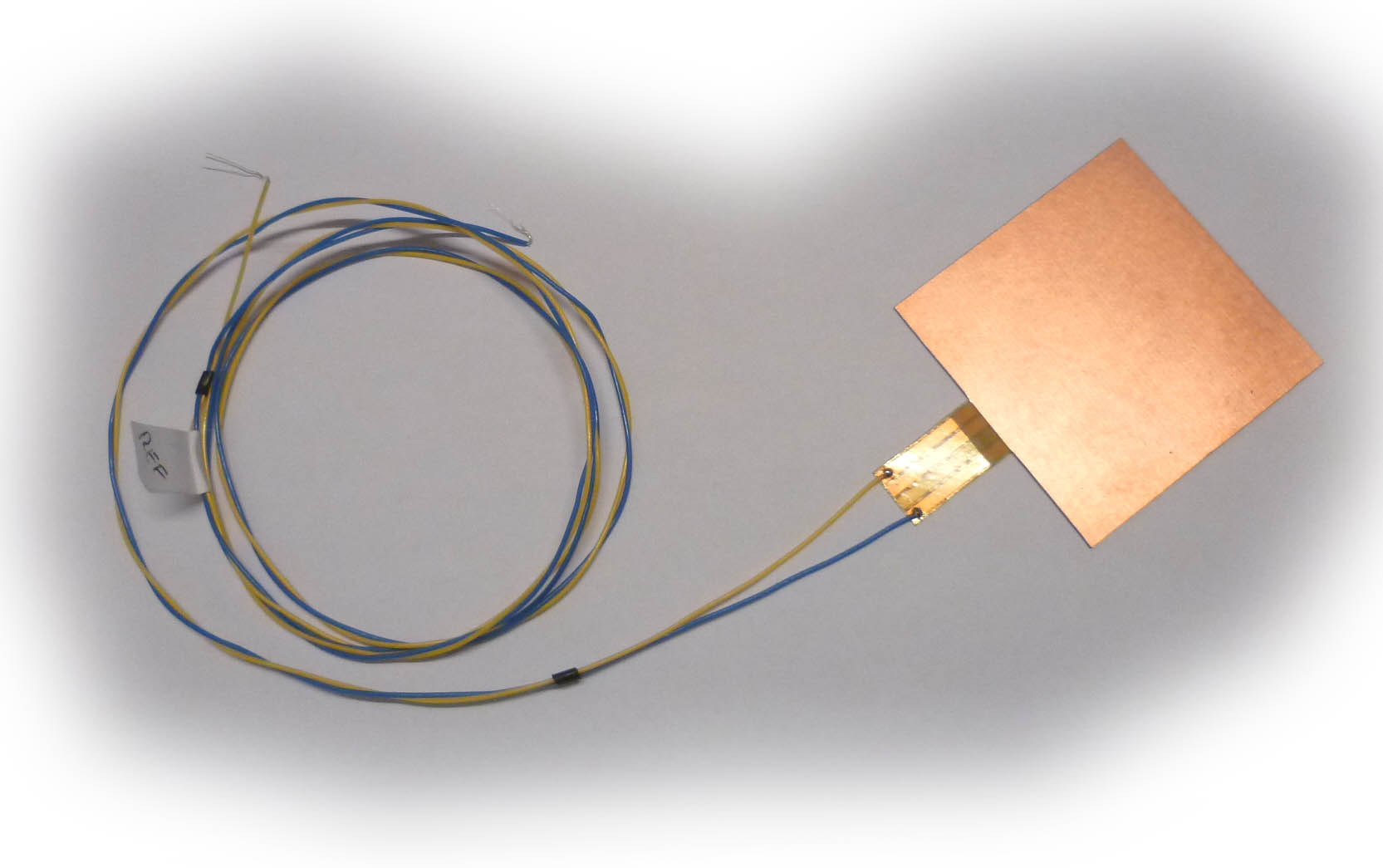 50x50mm heat flux sensor