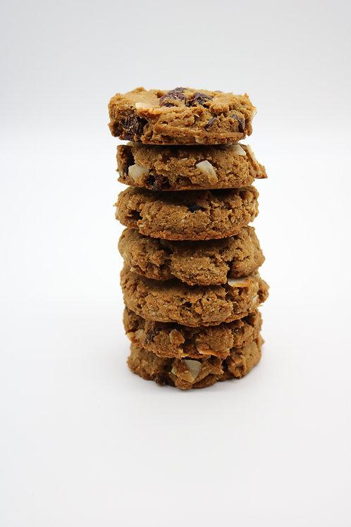 Soft-Baked No-oatmeal Raisin Cookies