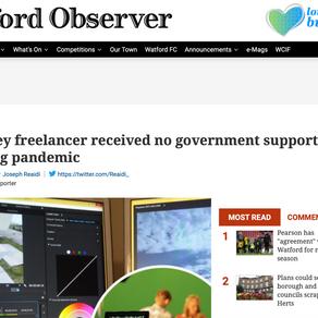 Viva La PD member Mandy featured in Watford Observer