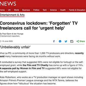 Viva La PD featured on BBC News