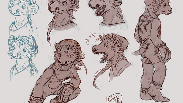 Mole Rat Girl