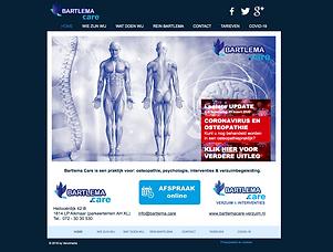 Venomedia maakt uw website; Bartlmacare