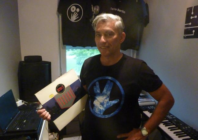 Groen Techno Hart met DJ Jackin Jeff