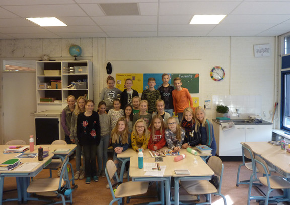 Basisschool de Bron doet mee aan heuse Kinderklimaattop