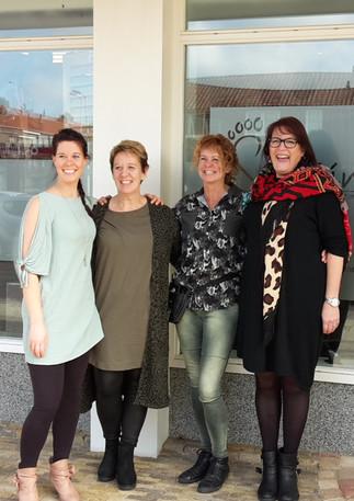 Vier ondernemers vullen Reeuwijks winkelpand