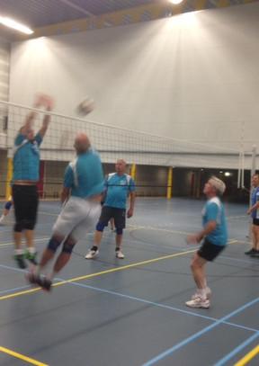 Feest bij Volleybal Club Reeuwijk