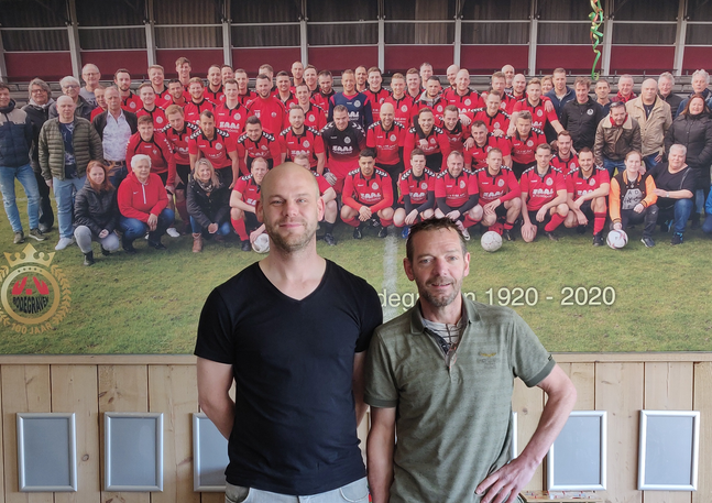 Het saamhorigheidsgevoel bij VV Bodegraven is al 100 jaar groot(s)