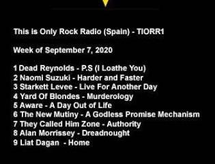 ONLY ROCK RADIO CHARTS 09-07-2020 #tiorrblog