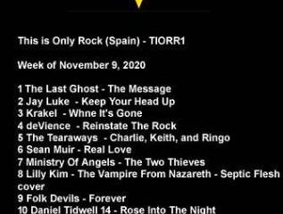 Only Rock Radio Charts 11-09-2020 #tiorrblog