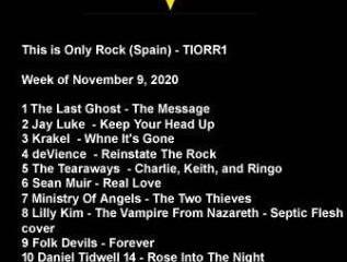Only Rock Radio Charts 11-09-2020 #tiorrblog