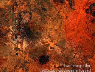 """Martina Doerner review: """"It won't change a thing"""" by Montana Musical Experiments P"""