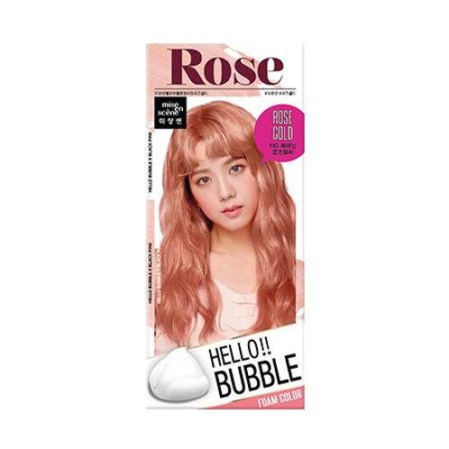 Mise En Scene Hello Bubble Hair Foam Color - Rose Gold 11RG