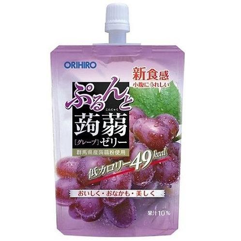 ORIHIRO konjac jelly standing grape 130G
