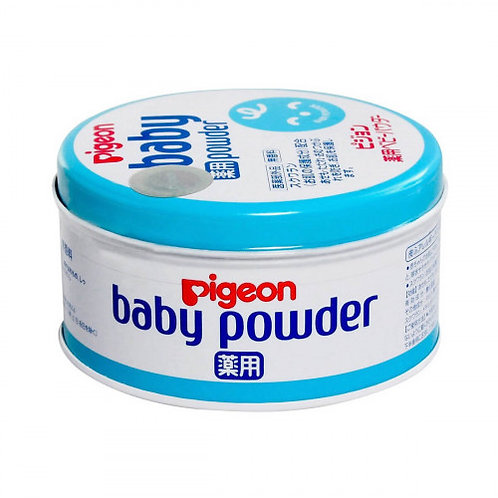 PIGEON Medicinal Baby Powder, Blue Can