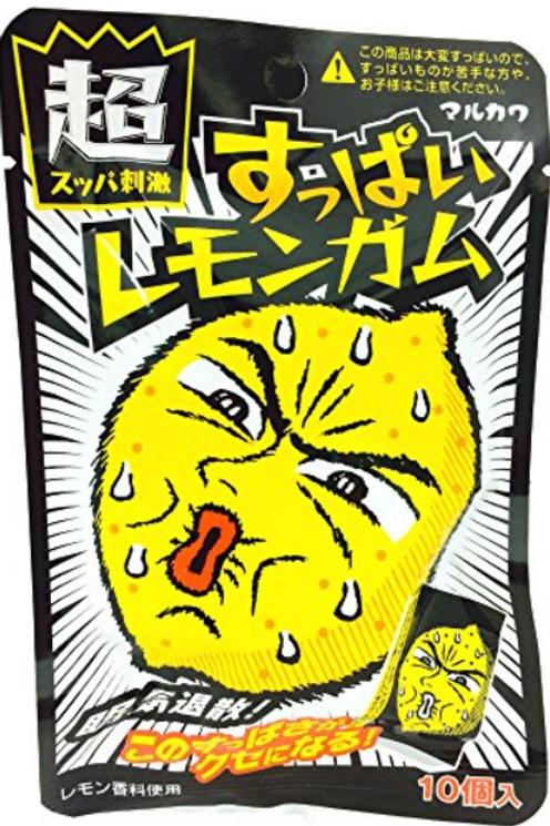 Marukawa Sour Lemon Gum