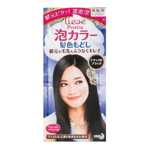 KaoBubble Hair Color  – black