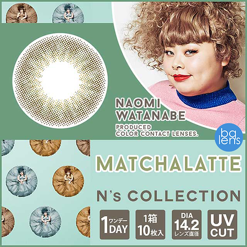 N's Collection  1Day x 10PCS ;DIA:14.2mm;Contact us before ordering