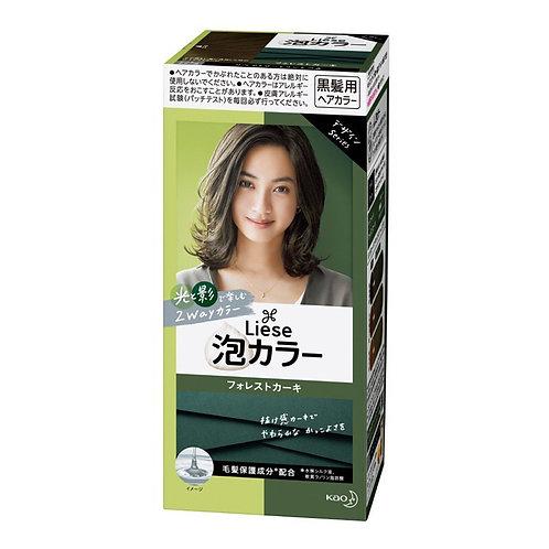 KAO Liese Prettia Hair Color Forest Khaki