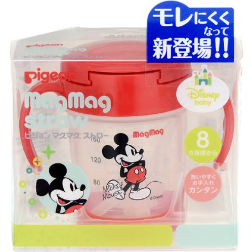 PIGEON Mickey Mouse 8 Months From Pigeon Sippy Cup Straw