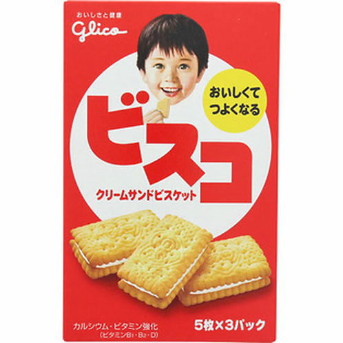 Glico Visco Cream Biscuits Cookies