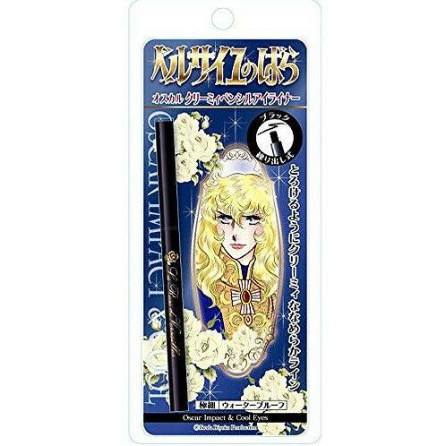 The Rose Of Versailles Oscar Creamy Pencil Eyeliner Black