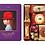 Thumbnail: Japanese Cookies Gift Box AKAI BOHSHI Purple Box 16 Packs
