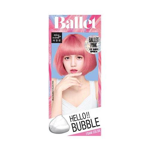 Mise En Scene Hello Bubble Hair Foam Color - Ballet Pink 11P