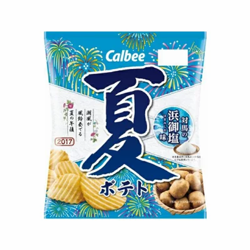 Calbee Japan Potato Chips - Summer Salty Flavor 65g