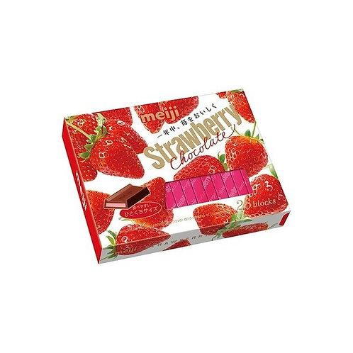 meiji Strawberry CHOCOLATE BOX