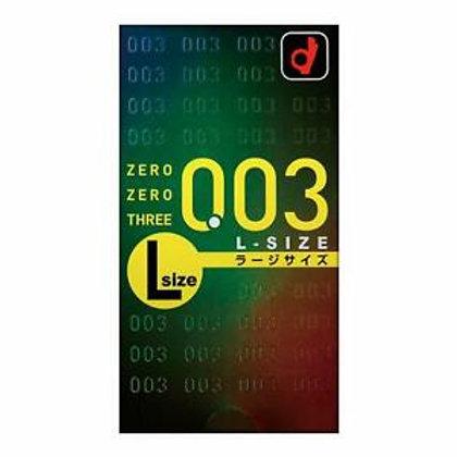 Okamoto 003 ZeroZeroThree Lsizecondom