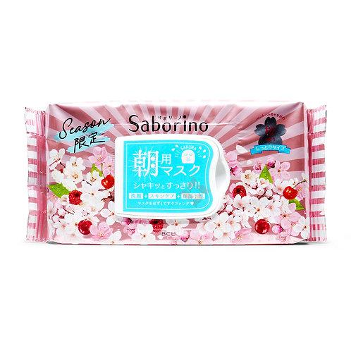 Saborino Morning Facial Mask Sakura 28Pcs