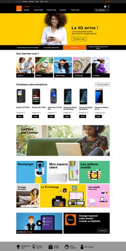 e-shop Orange