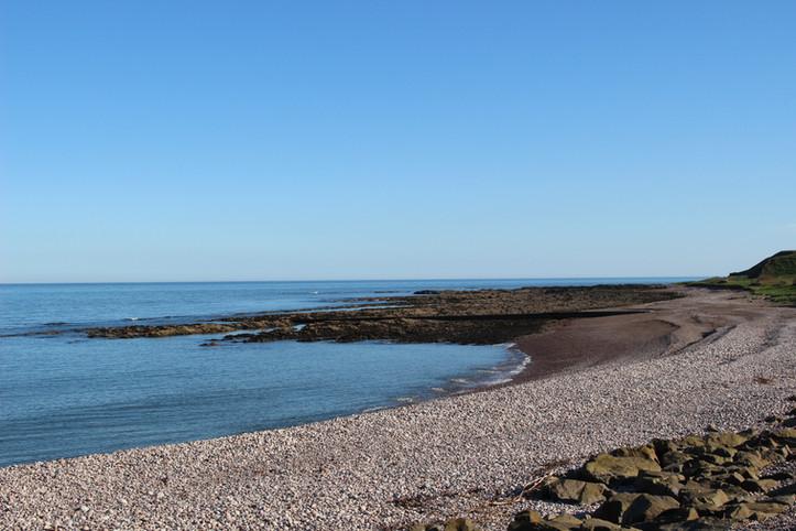 Inverbervie beach