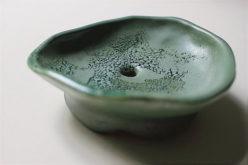 Stonehaven Round soap-dish