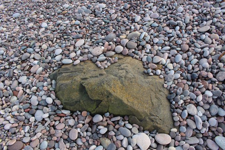 Stones surround