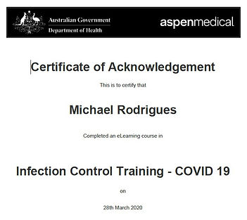 COVID-infection control cert.JPG