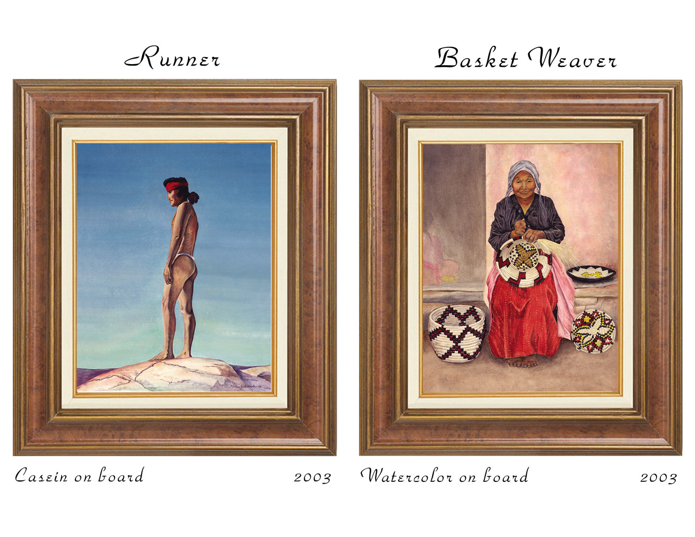 Runner and Basket Weaver