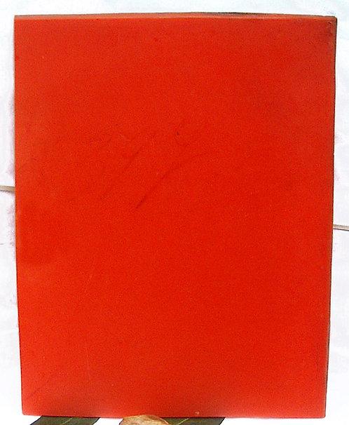 PLATE of GALALITH ORANGE (I)